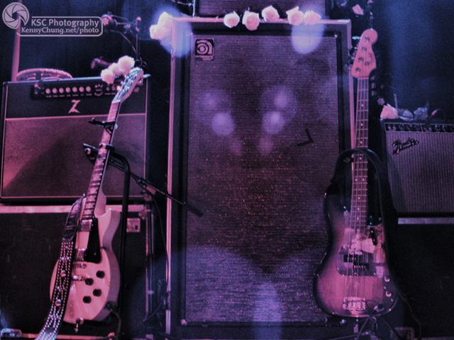 Stars Amy Millan and Evan Cranley guitars