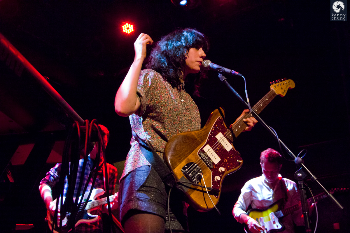 Jessica Dobson and Deep Sea Diver at Bowery Ballroom