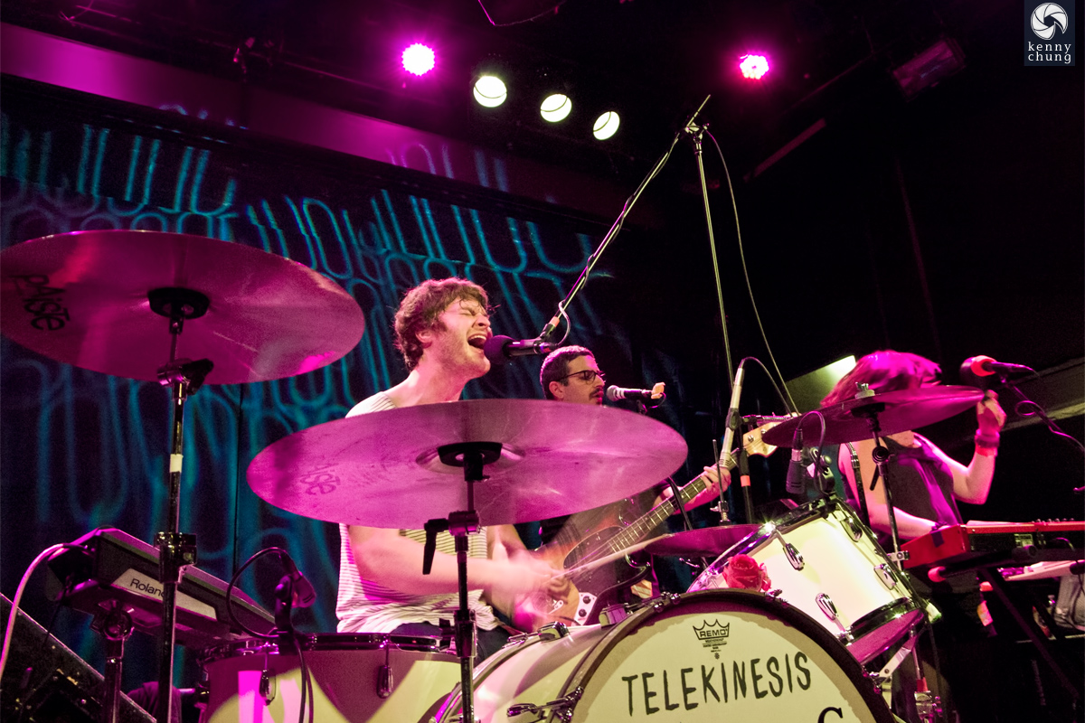 Telekinesis band at Bowery Ballroom
