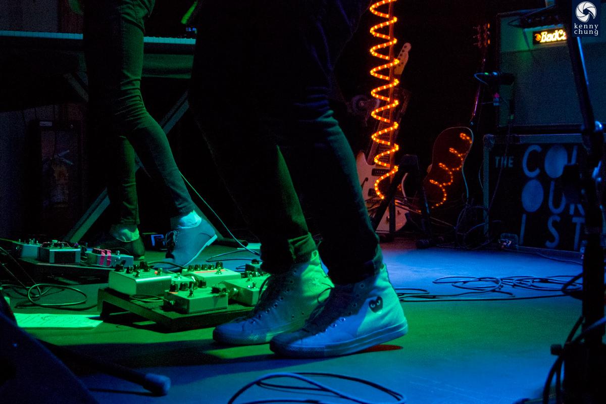 The Colourist's Adam Castilla's Converse shoes