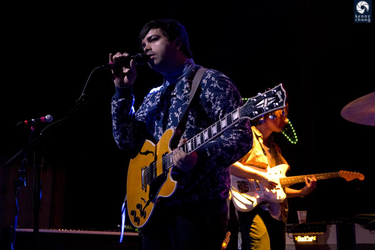 The Colourist's lead singer Adam Castilla