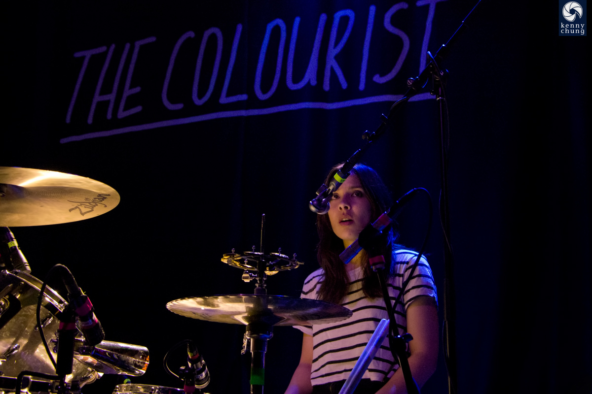 The Colourist at Rough Trade Brooklyn concert photos