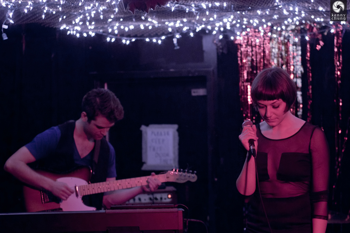 We Are The Wilderness (Shanda Woods and Ryan Manchester) at Cake Shop NYC