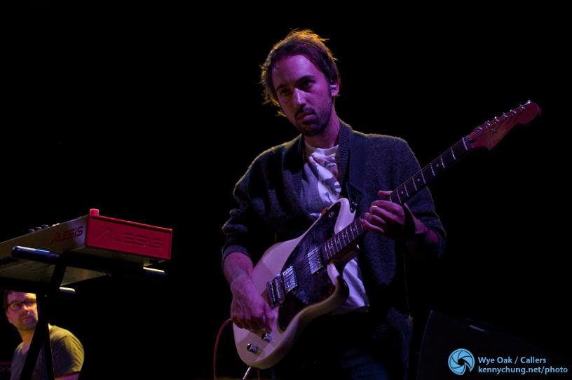 Callers lead guitarist