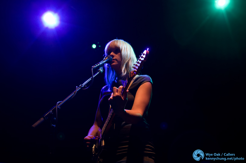 Wye Oak at Music Hall of Williamsburg