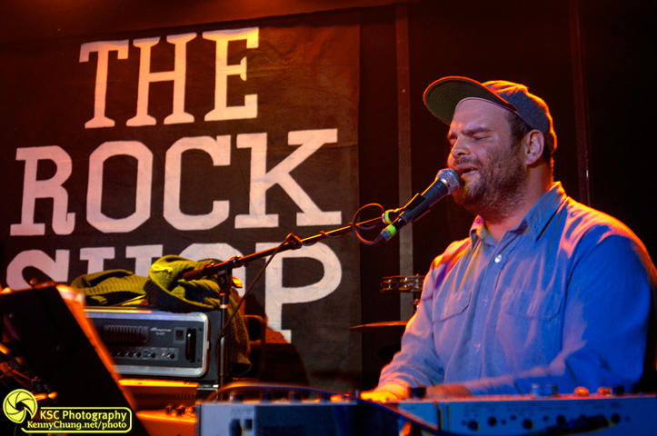 Andrew Thiboldeau of Pattern Is Movement at The Rock Shop, Brooklyn