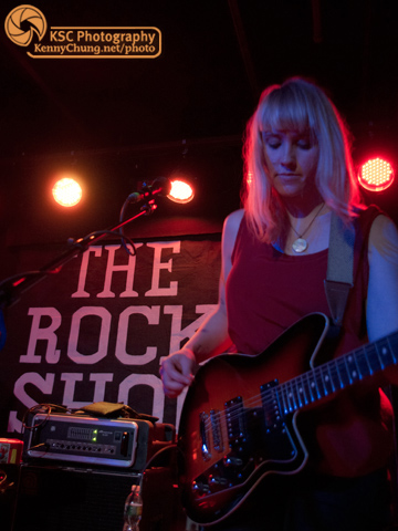Jenn Wasner of Wye Oak at The Rock Shop Brooklyn