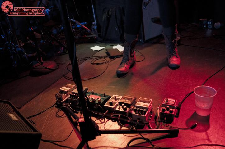 Wye Oak's Jenn Wasner's guitar pedals