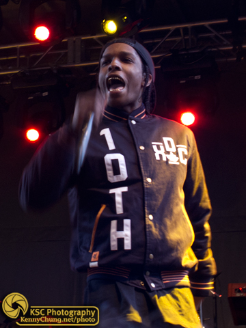 ASAP Rocky at Creators Project
