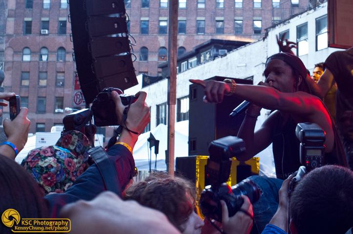 ASAP Rocky at Creators Project