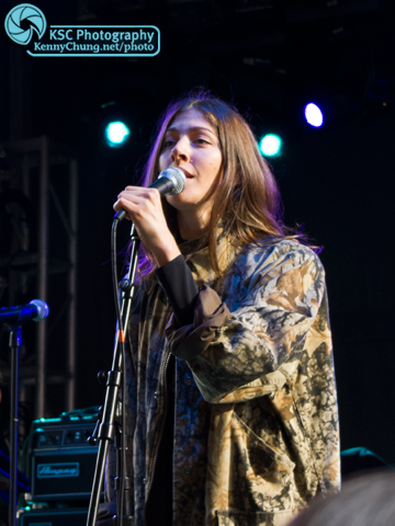 Chairlift Singer Caroline Polachek at Creators Project