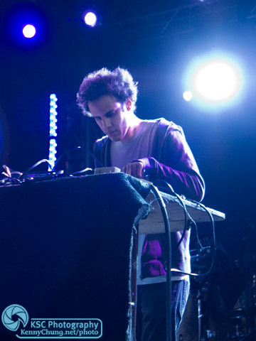Four Tet Kieran Hebden on the Creators Project Archway stage