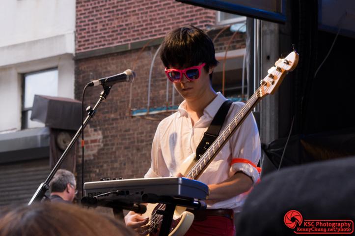 Queen Sea Big Shark bassist Wang Jinghan