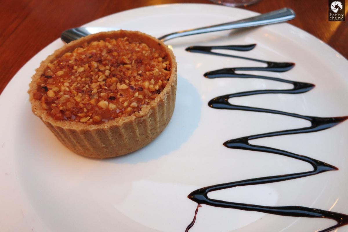 Funky pie dessert at Gallipoli Again, London