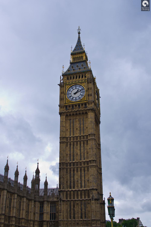 Big Ben in Elizabeth Tower in London