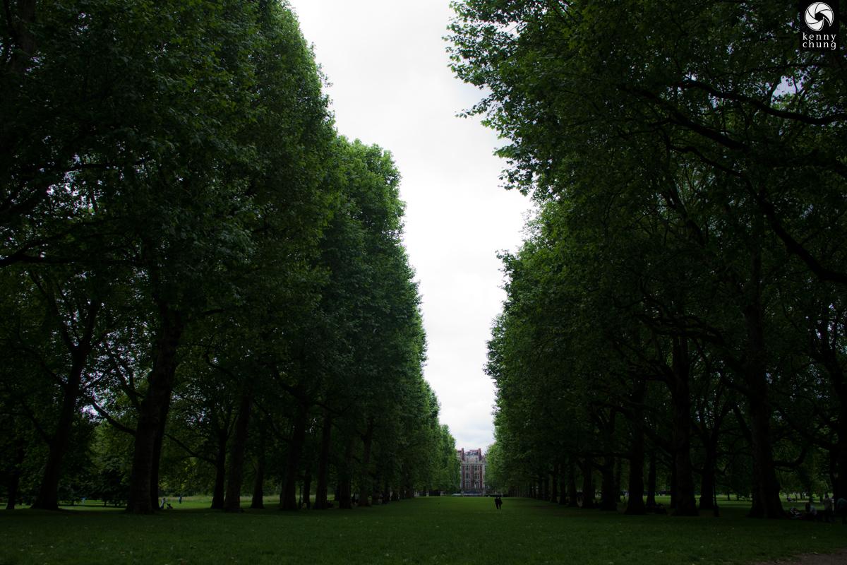 Kensington Gardens in London