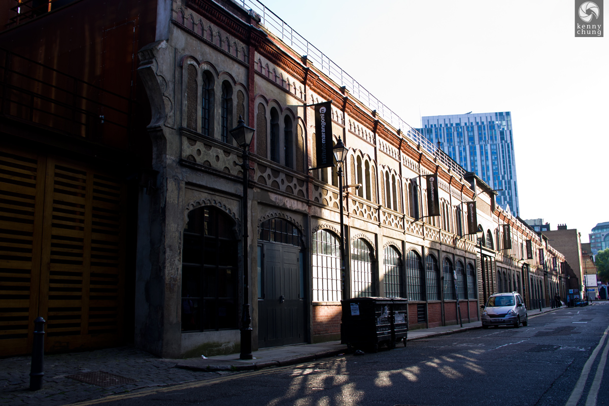 The Fashion Institute of London (Instituto Marangoni) in Spitalfields.