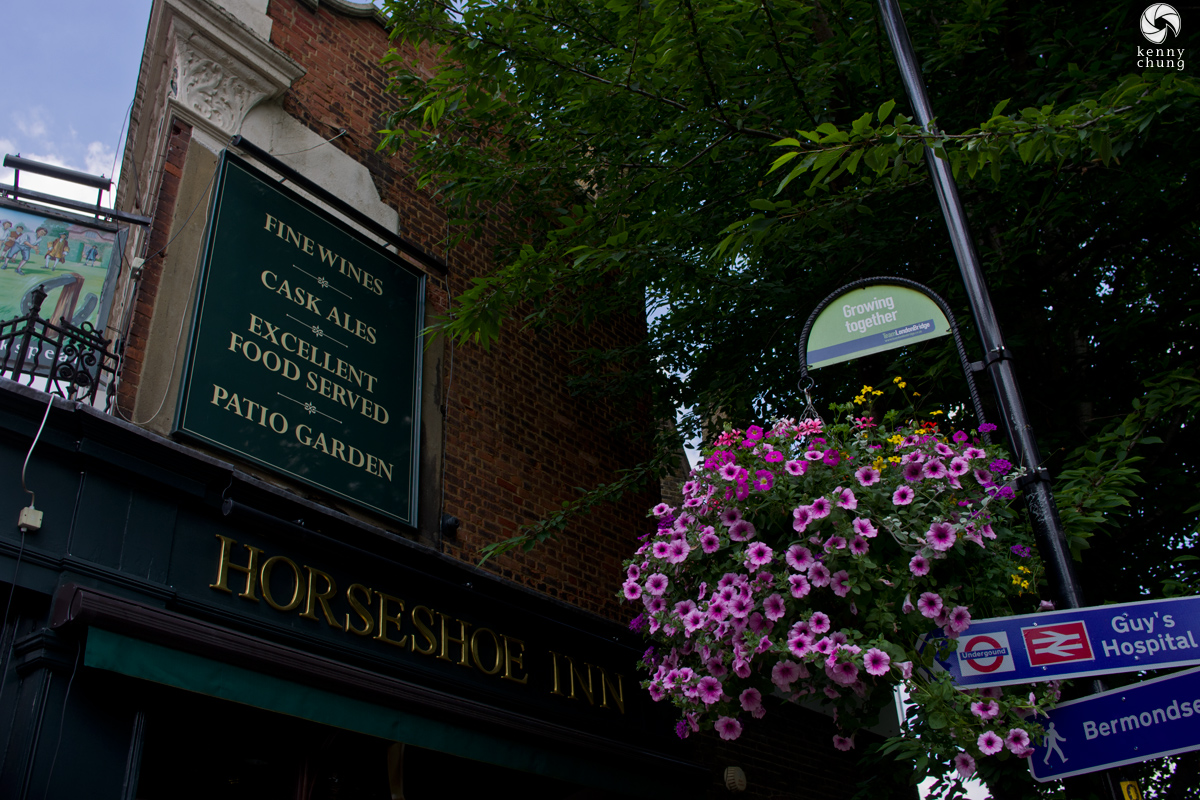 The Horseshoe Inn in Southwark, London