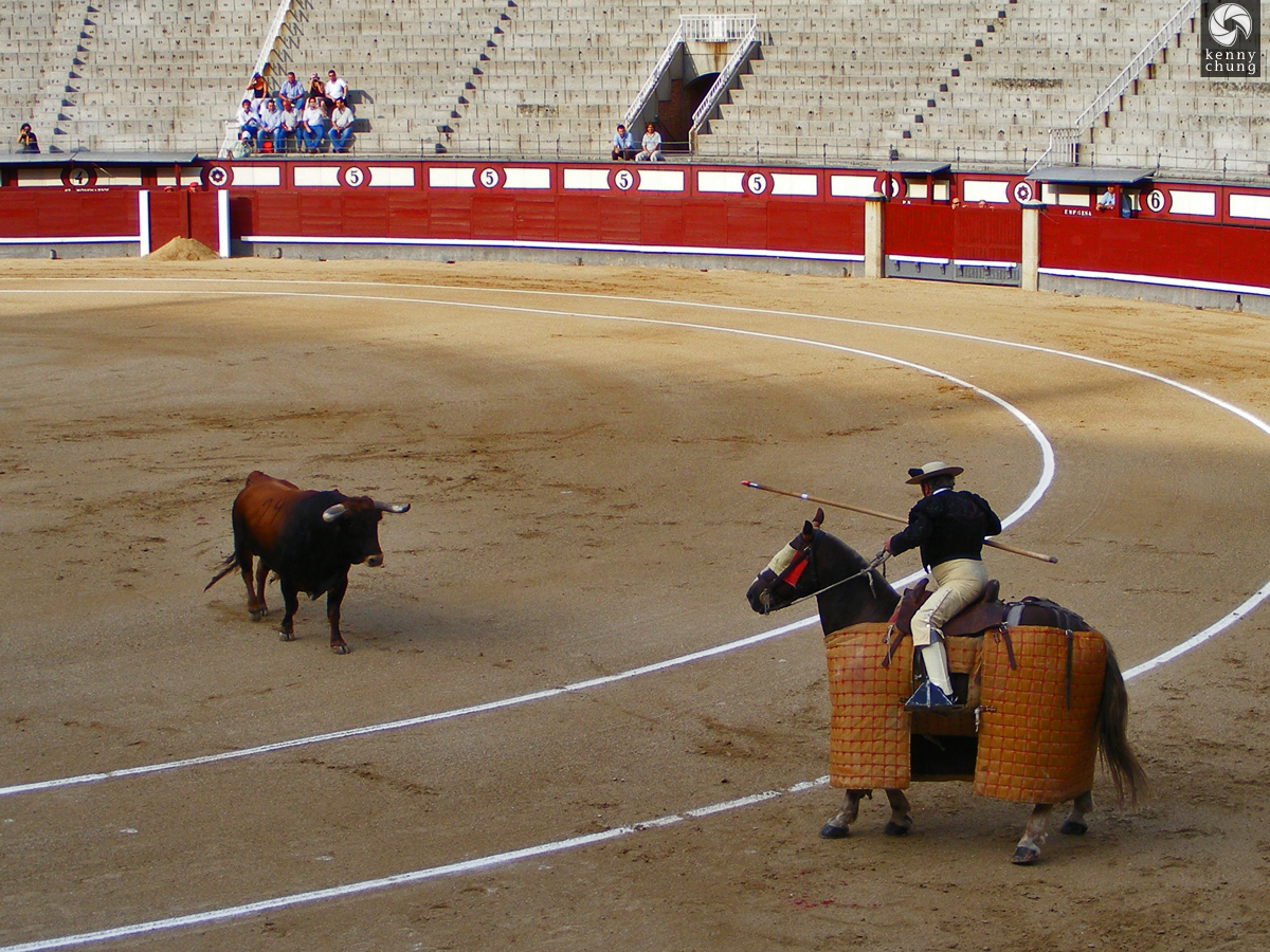 Bullfight At Plaza De Toros At Las Ventas Madrid Photos