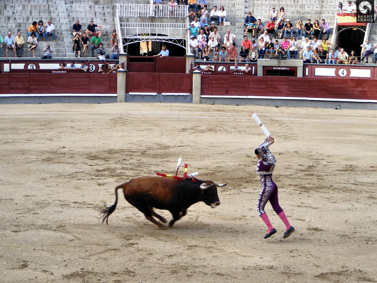 Tercio de Banderillas bullfight third