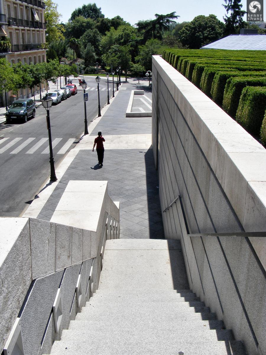 Museo Prado steps