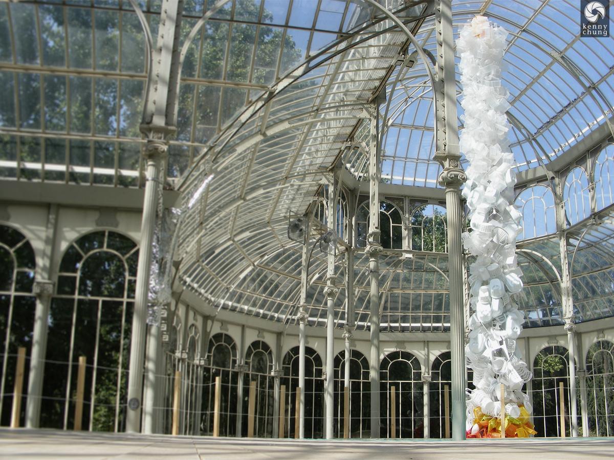 Palacio de Cristal in Parque del Buen Retiro