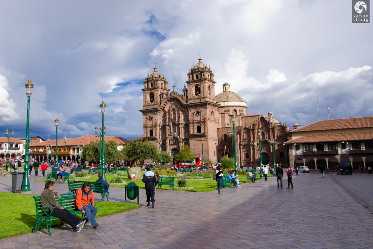 La Compania de Jesus at Plaza de Armas in Cusco