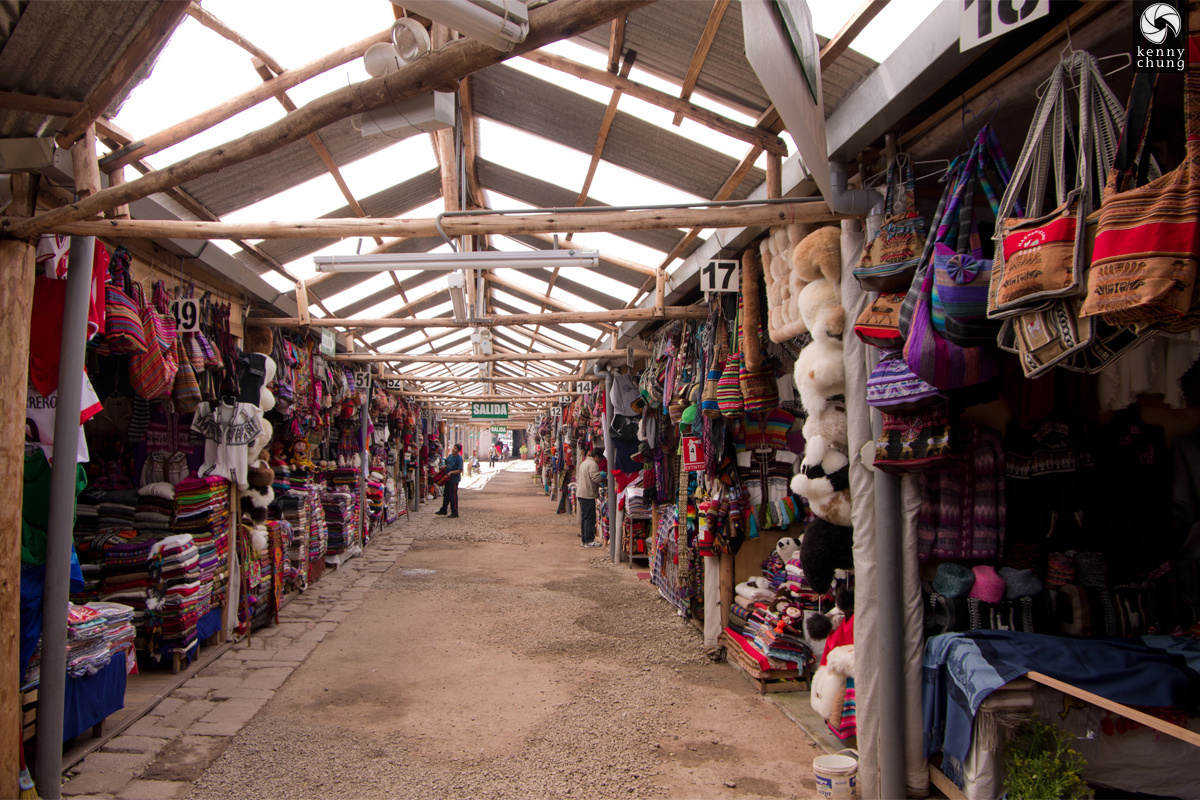Cusco Market in Peru