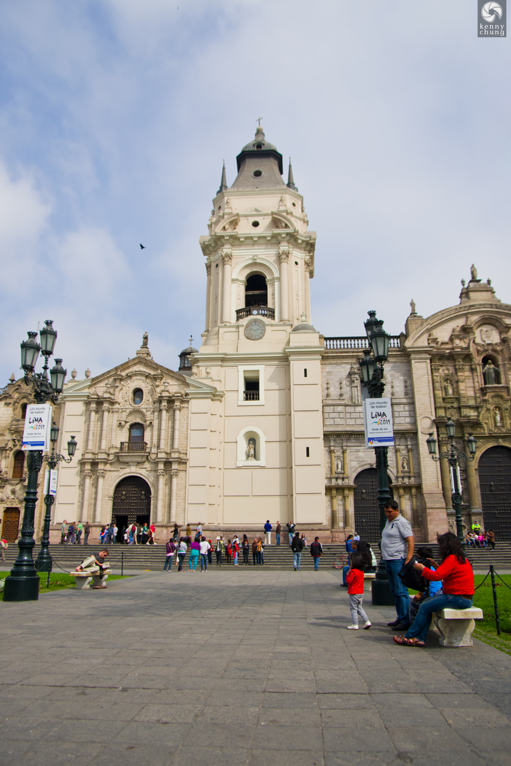 Cathedral of Lima in Plaza Mayor
