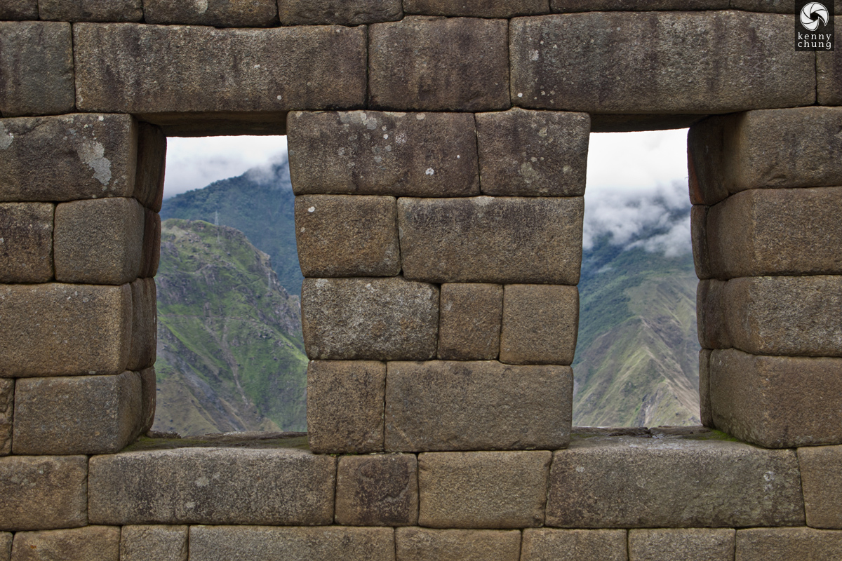 Embrasures at Machu Picchu