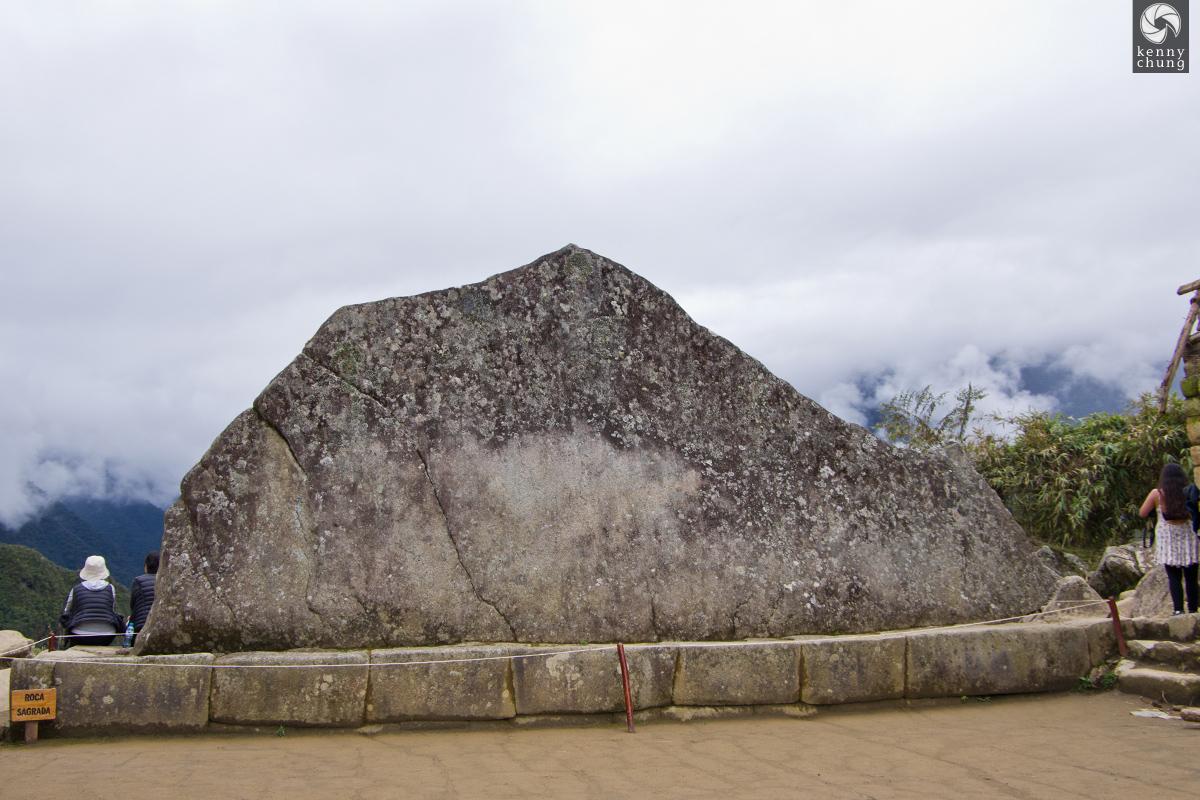 Roca Sagrada (sacred rock) at Machu Picchu