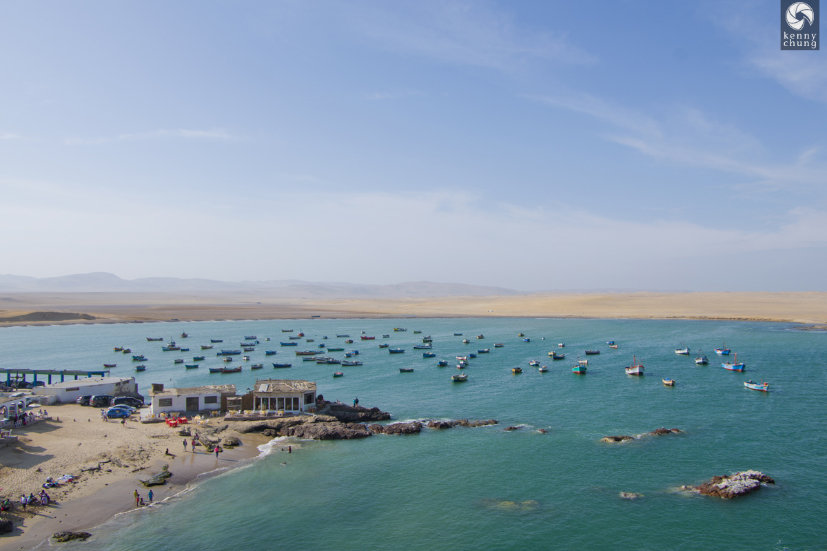 More fishing boats in Paracas