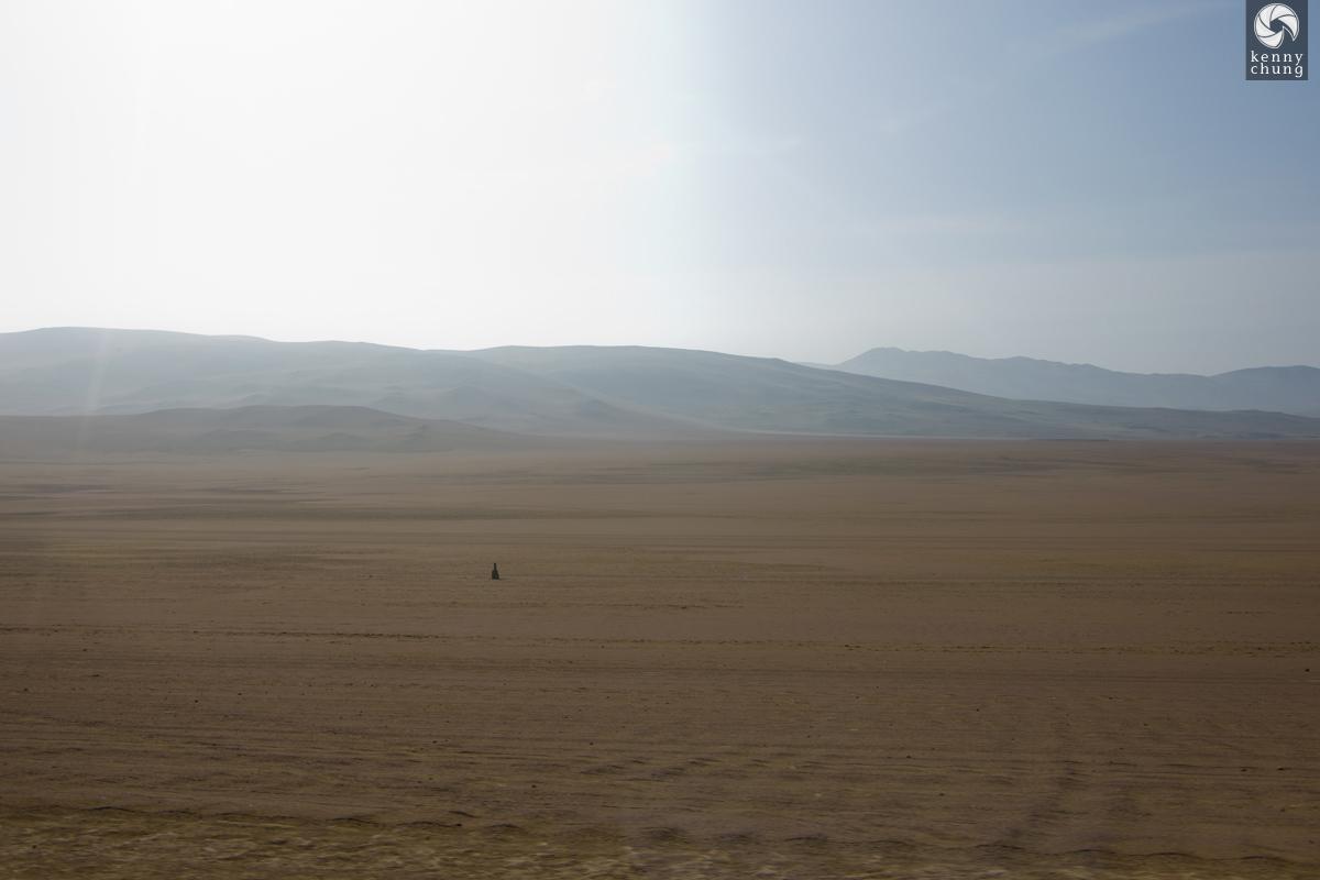 Desert sand in Paracas