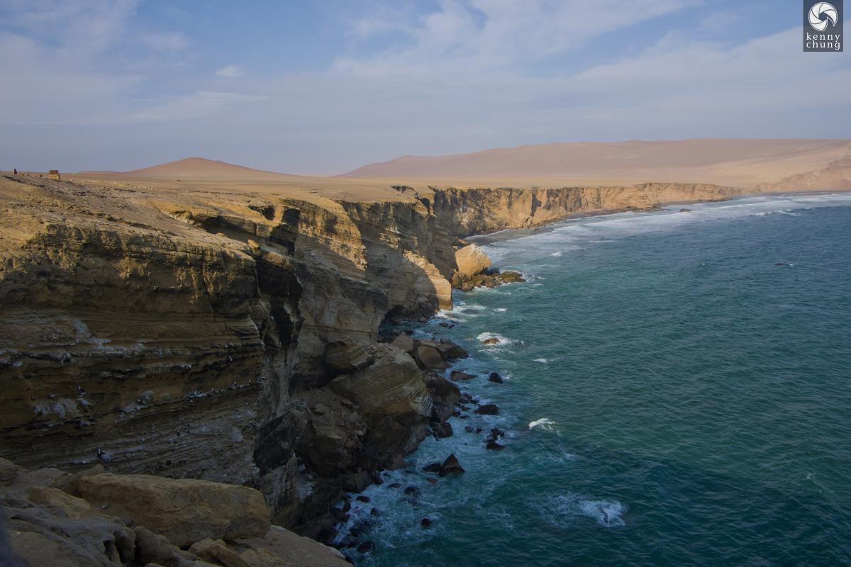 Cliffs on Paracas Bay
