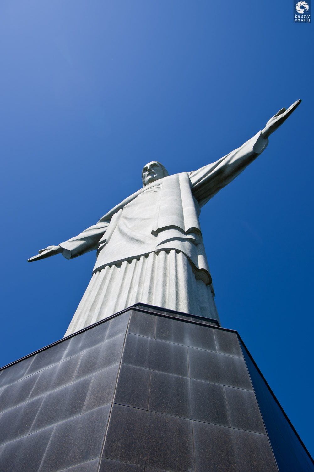Base of the Cristo Redentor statue.