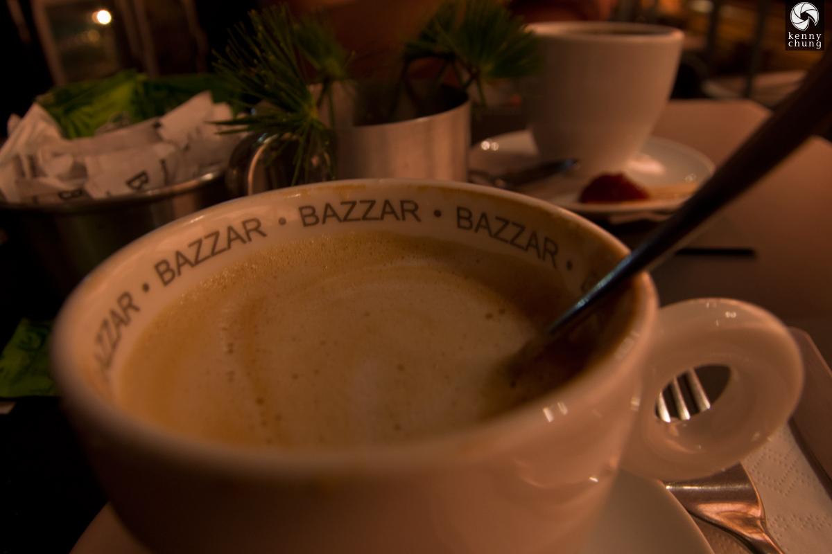 Bazzar cafe mug in Rio de Janeiro