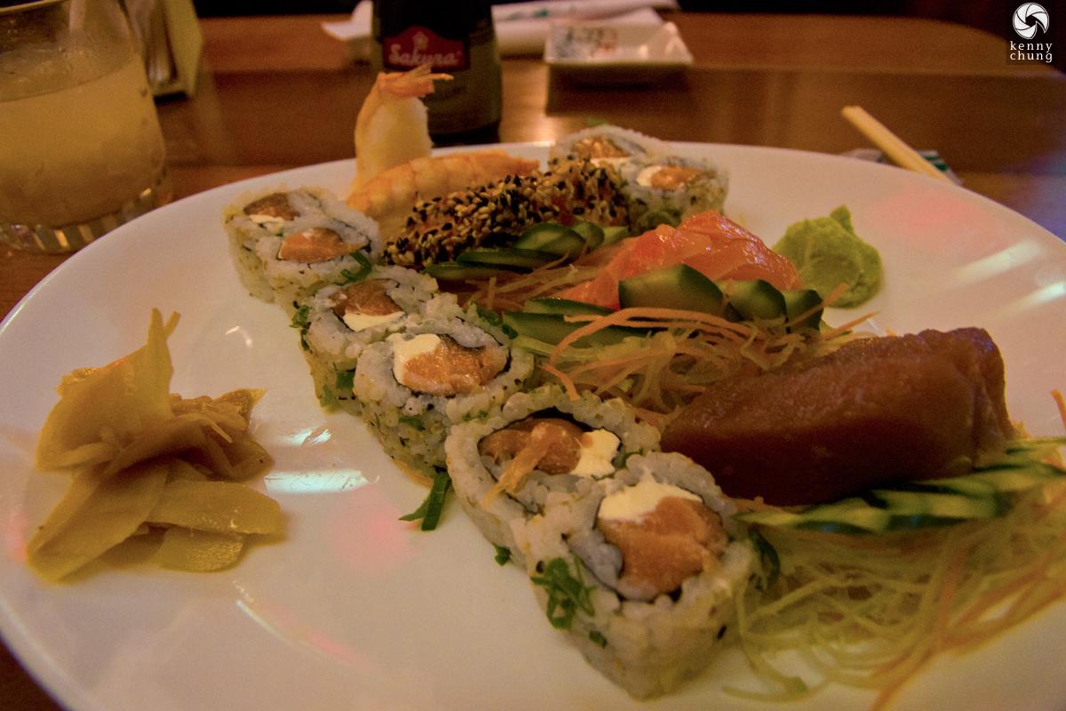 The Combinado Especial at Ipanema Sushi in Rio de Janeiro, Brazil
