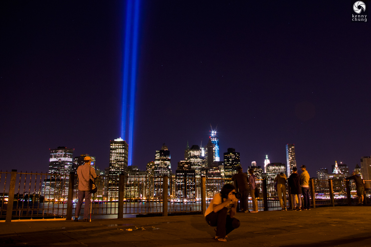 9/11/12 Tribute In Light photographers