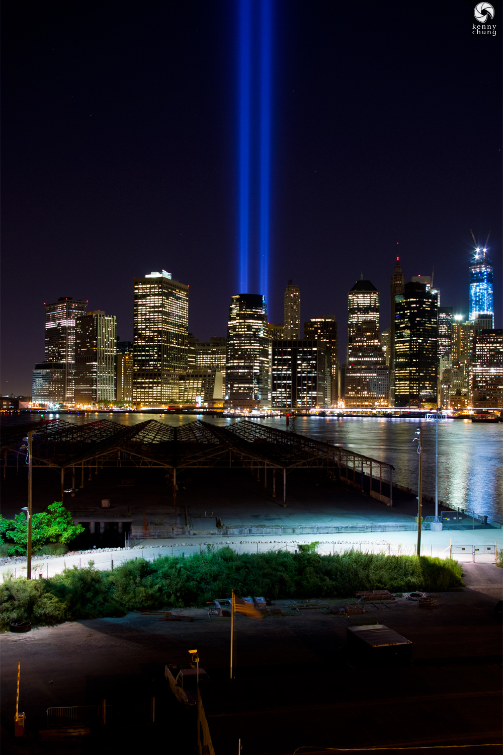 September 11 2012 Tribute in Light