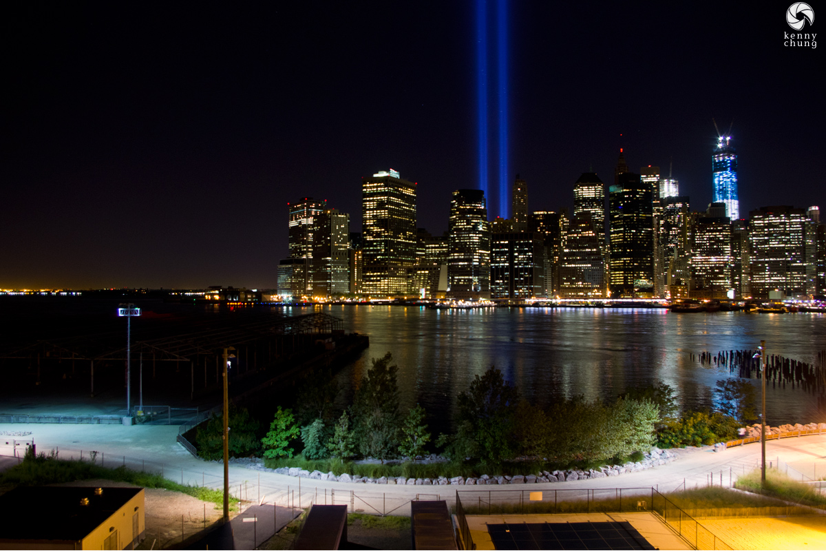 Tribute In Light and the Freedom Tower