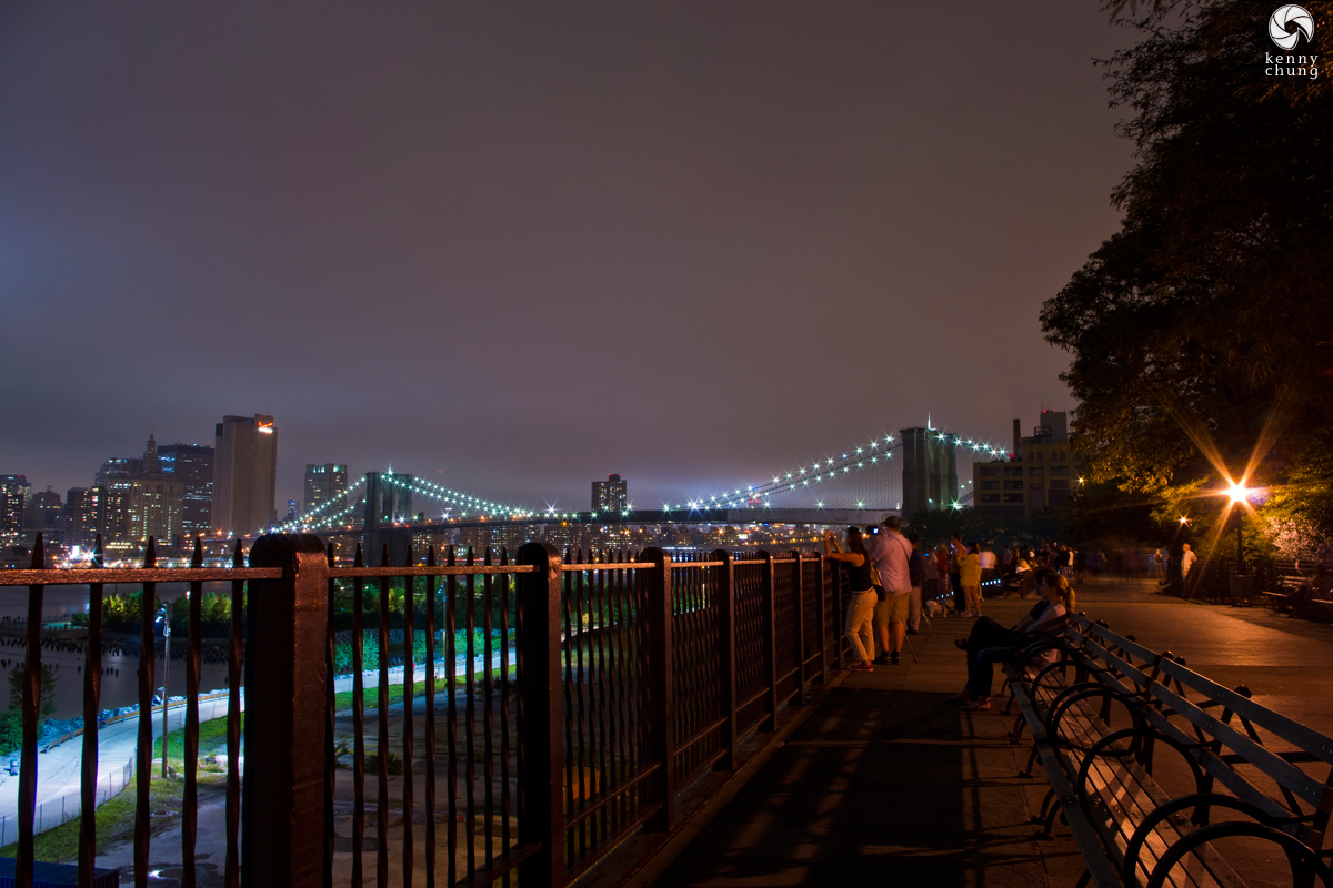 Brooklyn Bridge from the Brooklyn Heights Promenade