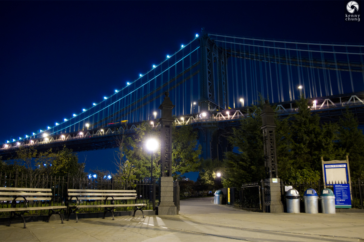 Brooklyn Bridge Park entrance