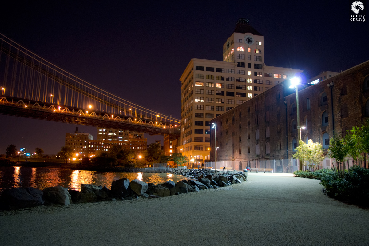 Dumbo Gair Building Clocktower and Manhattan Bridge