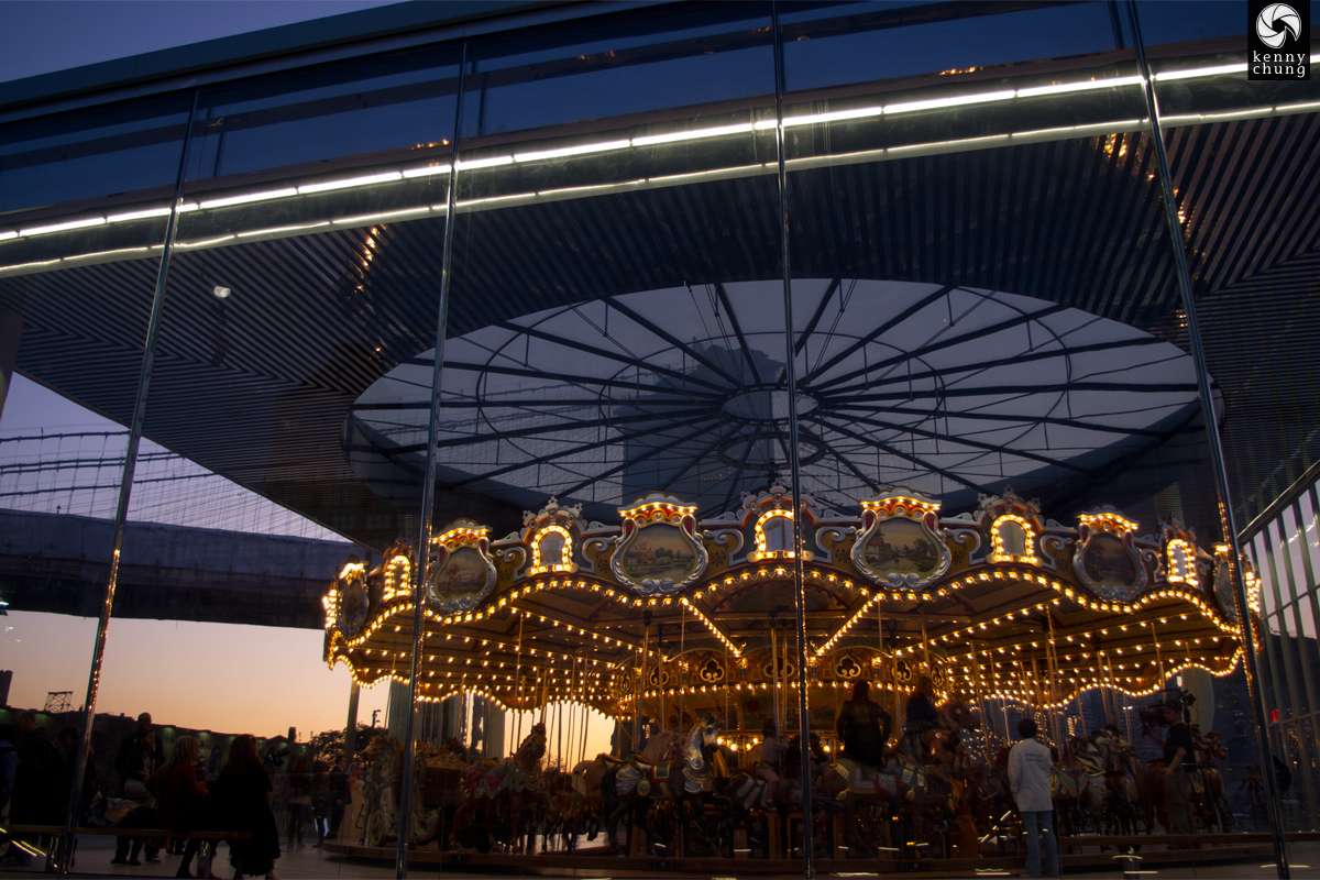 Janes Carousel Brooklyn Bridge Park