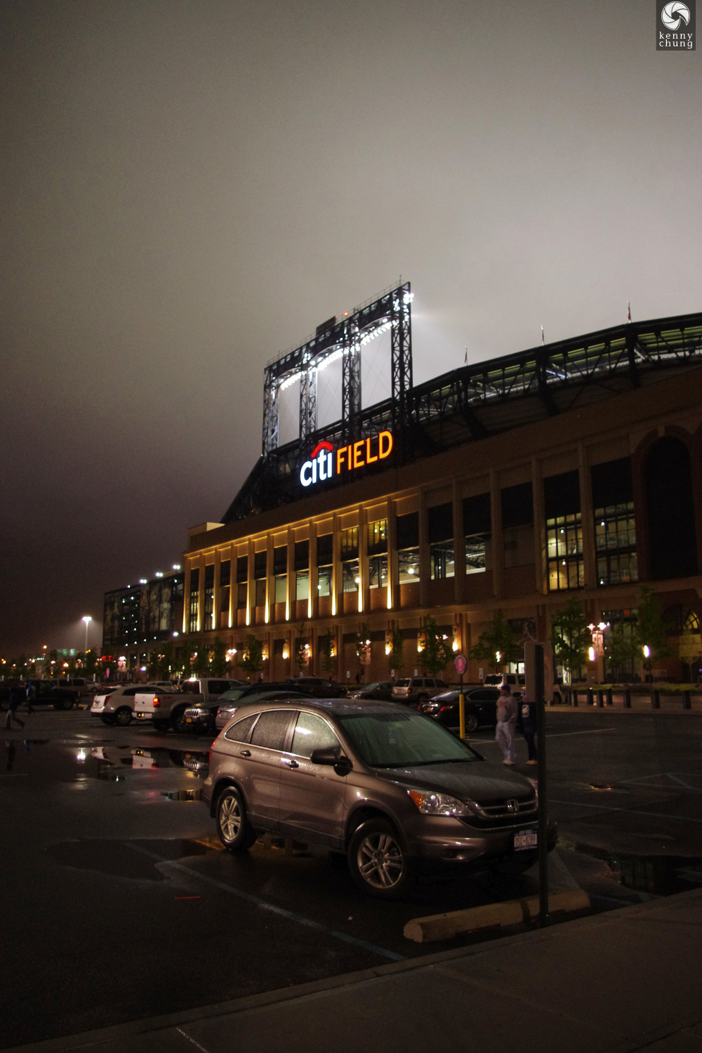 Leaving the Citi Field parking lot