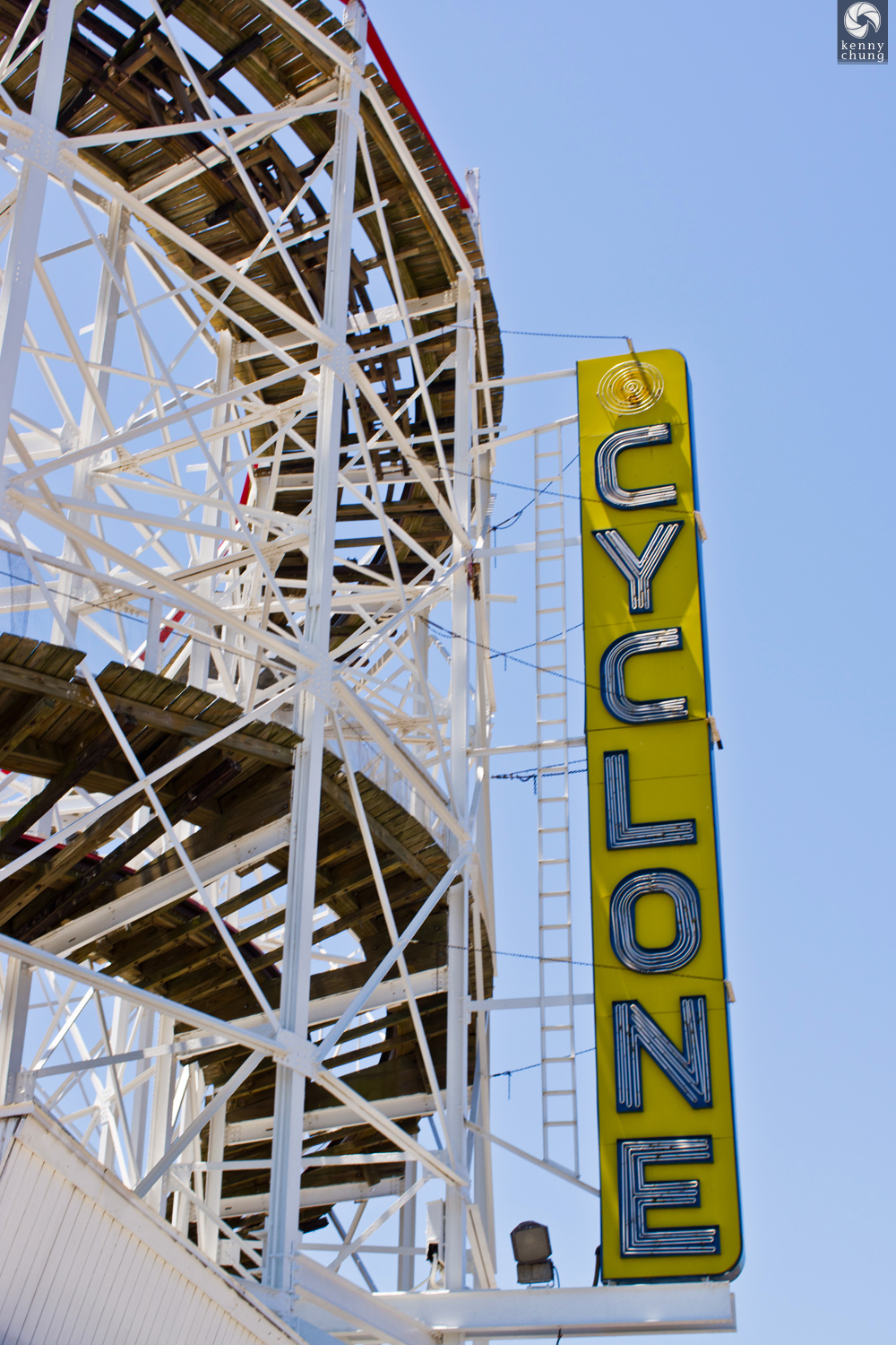 Coney Island Cyclone sign