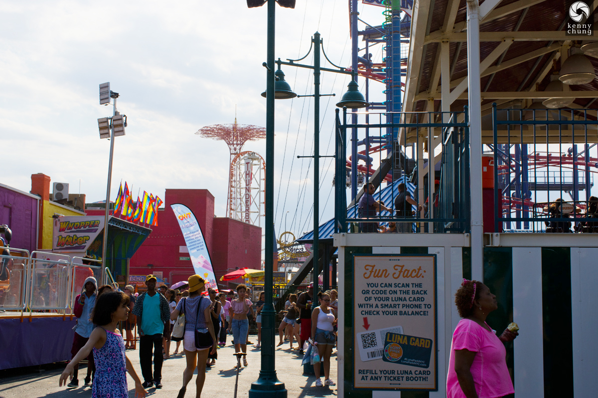 Leaving Coney Island
