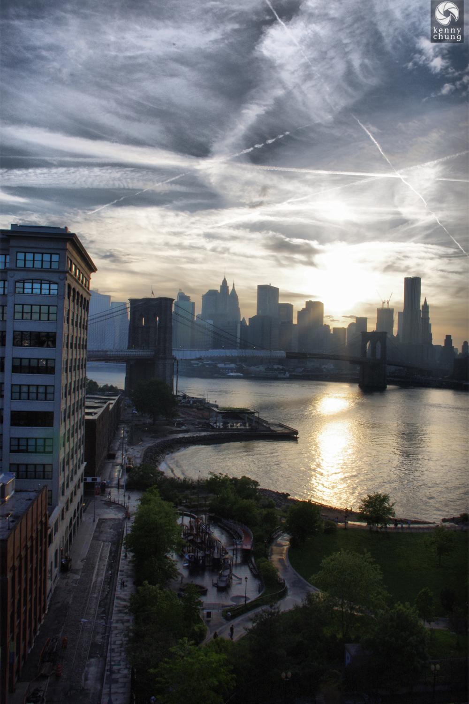 Brooklyn Bridge Park from the Manhattan Bridge