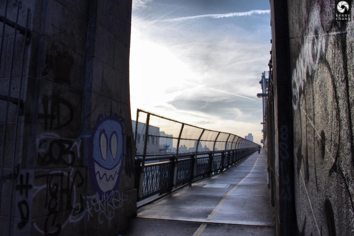 Graffiti on the Manhattan Bridge