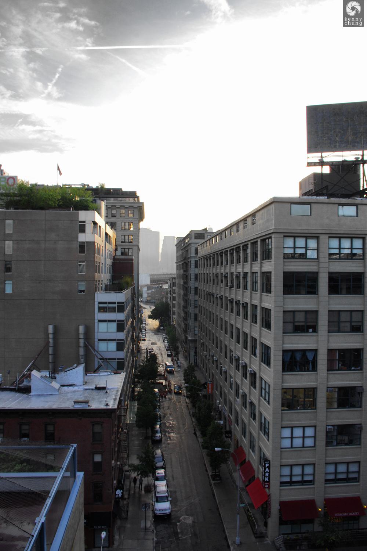 DUMBO as seen from the Manhattan Bridge